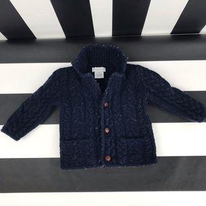 5 for $25 Ralph Lauren Navy CableKnit Sweater